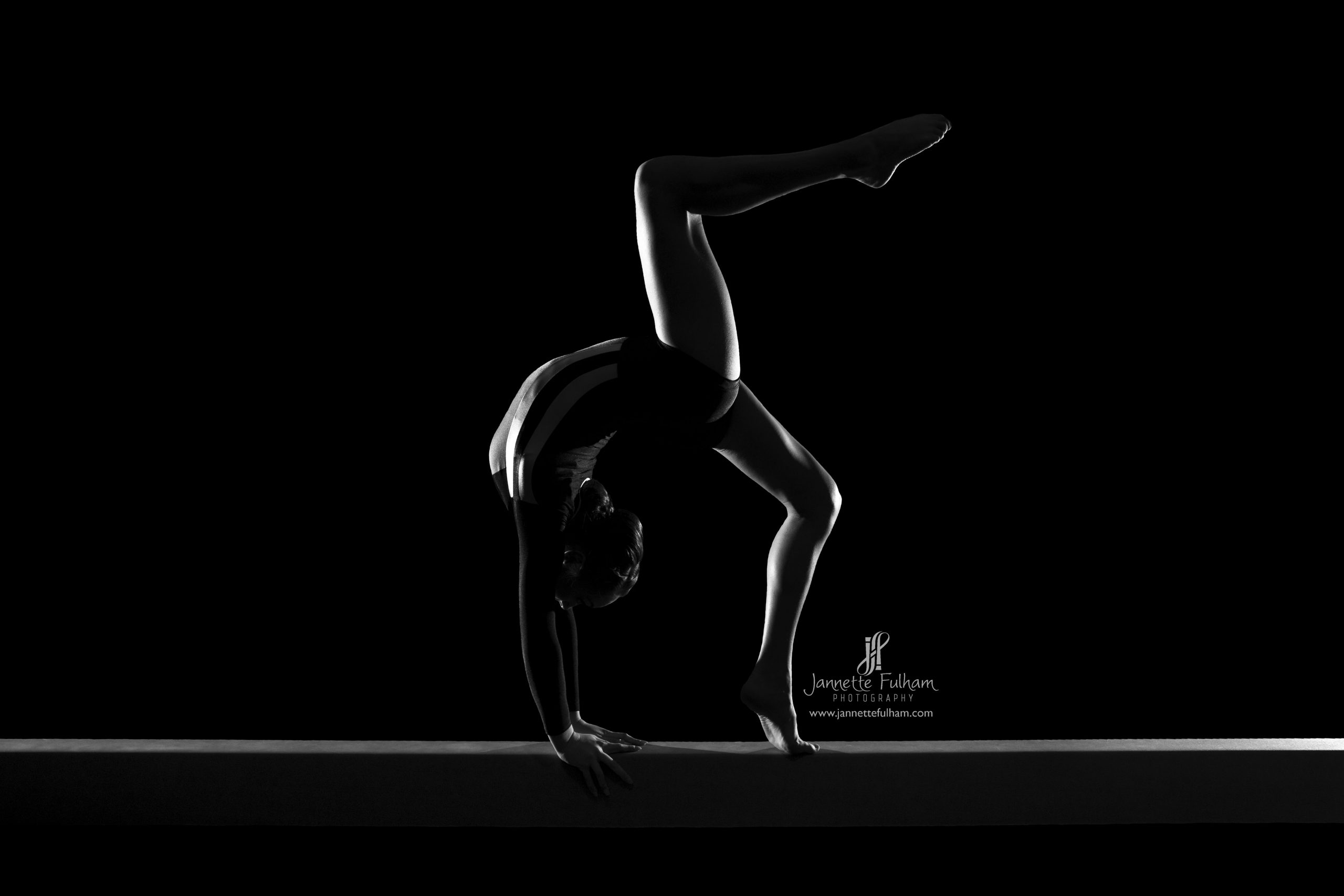 gymnastics, black and white