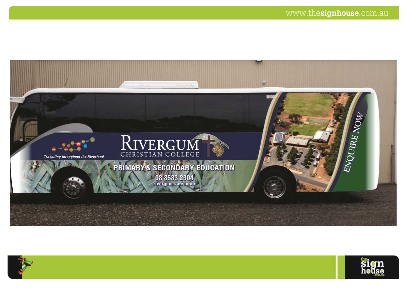 bus, wrap, aerial, promotional